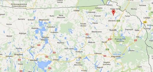 Mapa dojazdu do Siedliska